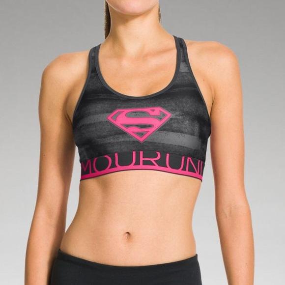 e1af2bfe885 Under Armour Alter Ego Supergirl Sports Bra Size L